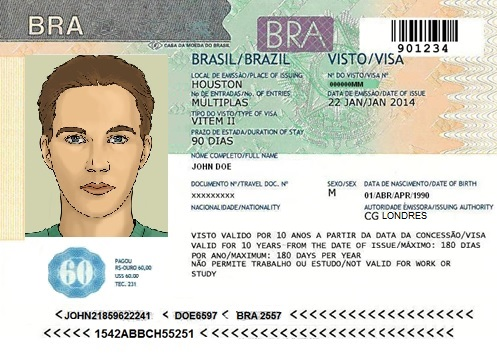 Brazilian Business Visa Letter